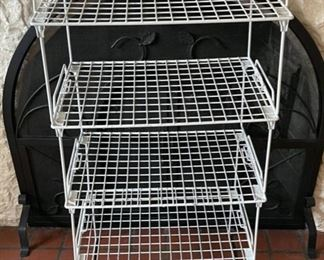$12.00..........................Stacking Shelving (B190)