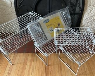 $12.00.........................Stacking Shelving lot (B191)