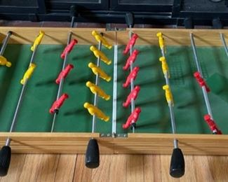 "$45.00.......................Foldable Tabletop Foosball Table 30"" long (B201)"