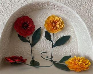 $12.00........................4 Flower Wall Hooks (B203)