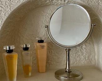 $30.00..................Tresor Lancome Perfume and Mirror (B219)