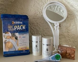 $10.00............................Hot Cold Pack, neck mirror and more (B220)