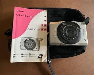 $25.00....................Canon Elph Camera (B232)