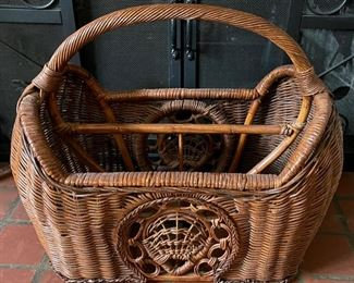 $20.00.....................Wicker Magazine Rack (B250)