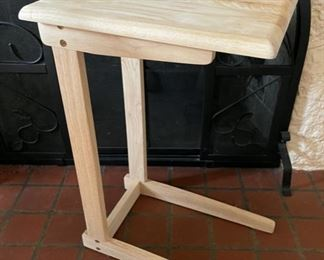 "$25.00..................Tray Table 24"" tall (B254)"