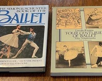 $10.00..................2 Ballet Books (B355)