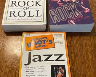 $12.00....................Rock & Roll and more books (B354)