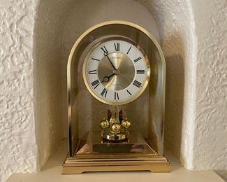 "$25.00.................Seiko Anniversary Clock 9"" tall (B346)"
