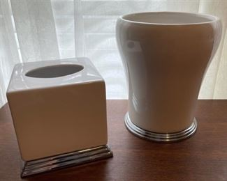 $30.00.................Waste can and Tissue Box (B389)