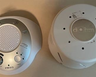$25.00..................Dohm and Homedics Sleep Machines (B421)