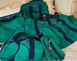 $75.00...................8 Lands End Bags *do have initials embroidered on them (B466)
