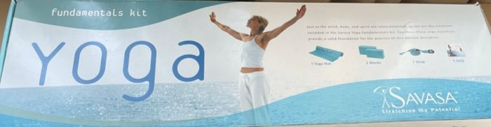 $20.00................................Savasa Yoga Mat Set (B474)