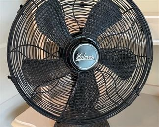 $30.00....................Holmes Wicker Looking Fan (B476)