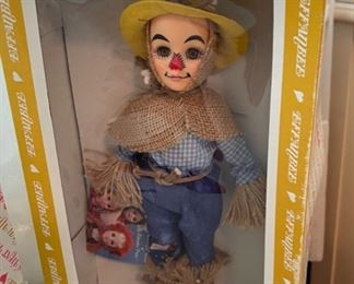 "$30.00..............Effanbee Wizard of Oz ""Scarecrow Dorothy"" Doll w/original box (B488)"
