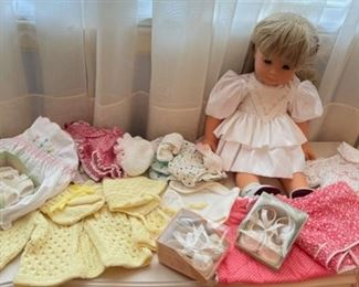 $50.00....................Gotz Doll and doll clothing (B489)