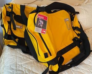 $60.00.................Large NEW  TNF Base Camp Duffel  (B491)