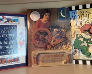 $12.00....................Rumpelstiltskin and more books (B495)