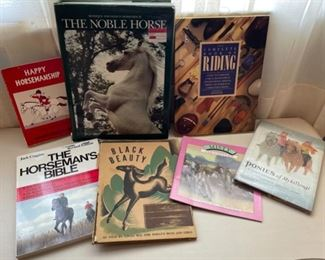 $25.00.....................The Noble Horse and more horse books (B499)