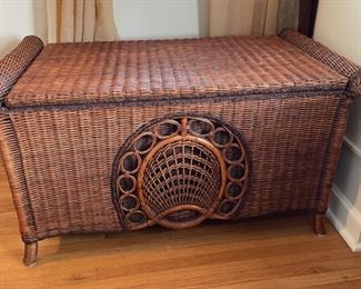 $100.00....................Wicker Trunk (B511)