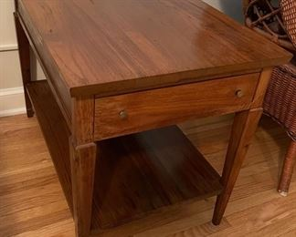 "$45.00....................End Table 30"" x 19"", 22"" tall (B518)"