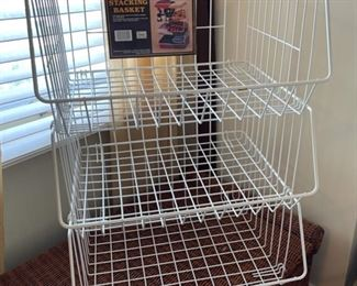 $12.00.....................3 Extra Large Stacking Baskets (B519)
