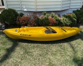 "$250.00................Elie Kayak 92"" long (B527)"