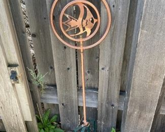 $20.00...................Ornamental Sprinkler with Fish (B528)