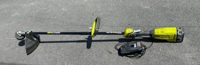 $40.00................Ryobi Trimmer 18v Lithium works great  (B531)