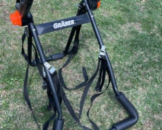 $50.00...................Graber Mountaineer Bike RAK Model # 1059z 3 Bike Rear Mounted Carrier  (B550)