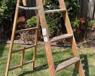 $20.00.................6' Wooden Ladder (B551)
