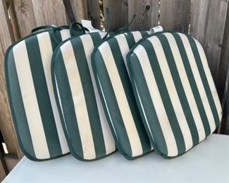 $20.00................Set of 4 Outdoor Cushions (B579)