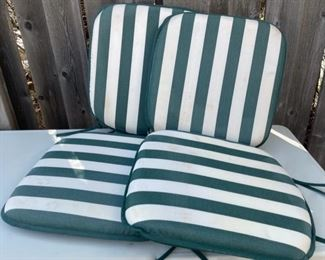 $20.00................Set of 4 Outdoor Cushions (B577)