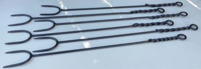 $25.00................Set of 6 Camping/Grilling Stakes (B575)