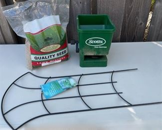 $10.00....................Grass Spreader and more (B600)