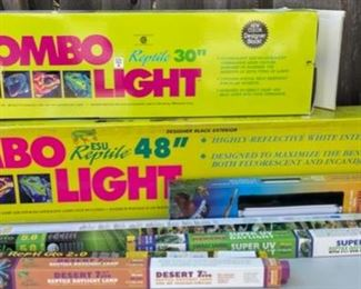 $50.00................Reptile Warming Lamps and Light Bulbs (B595)