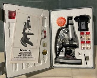 $60.00.......................Tasco Microscope 1200x with case (B629)