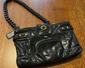 $50.00..................Coach Purse, braided strap  (B792)