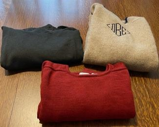 $30.00......................3 Large Wool Sweaters (B762)
