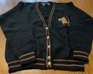 $20.00........................95% wool, 5% poly Herman Geist Sweater size Medium (B747)