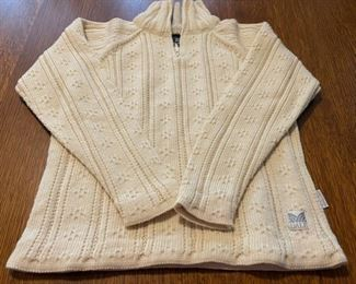 $60.00..................Dale of Norway Wool Sweater Water Repellant size Small (B746)