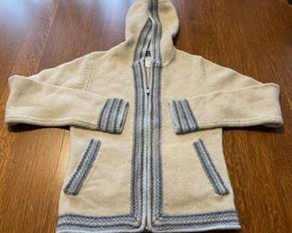 $50.00......................Small Lambswool Patagonia Wool Sweater (B737)
