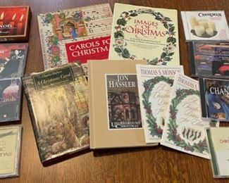 $16.00...................Christmas Books and CD's (B808)