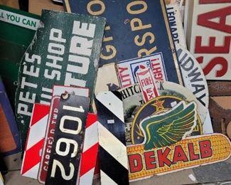 So many signs....