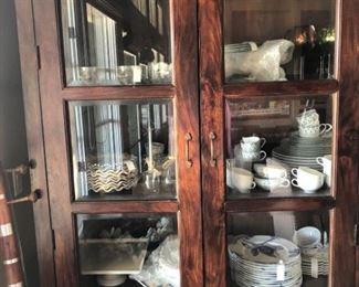 Beautiful Large European Farmhouse Style Cabinet