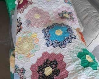 New Price $80.00  Quilt. Antique.   Beautifully hand made.