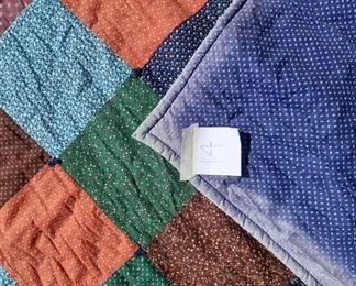 added photos patchwork quilt