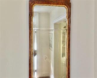 """$495 - Antique gilded mirror - 45 1/2""""H x 17 1/2 W"""
