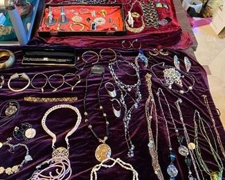 Loads of fashion necklaces and custom jewelry