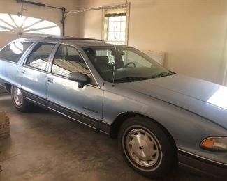1991 Olds Custom Cruiser Station Wagon 106,000 miles
