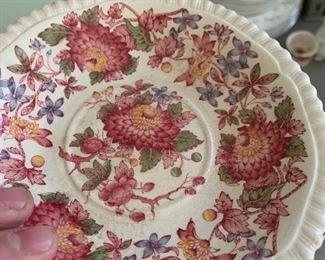 Vintage Spode dishes